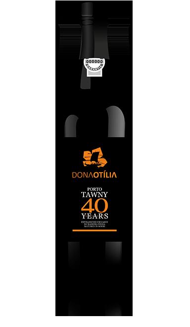 Dona Otília Tawny 40 Years