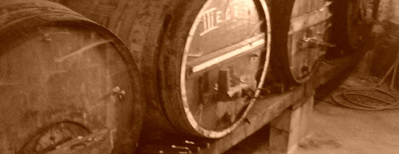 Port Wine barrels from Quinta sao Martinho